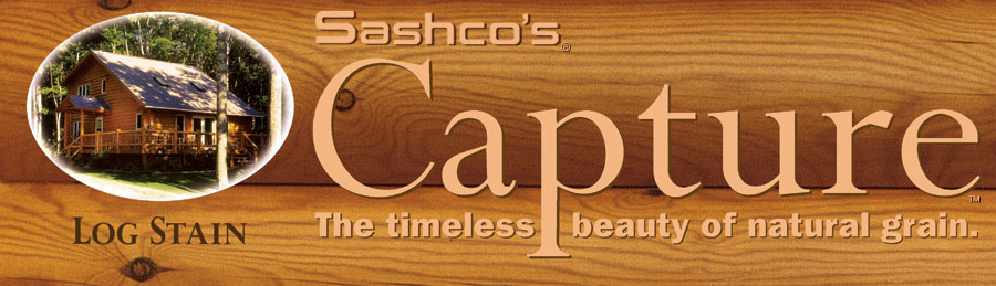 Capture Log Stain Logo