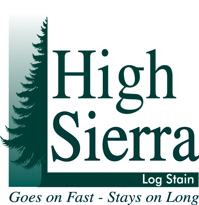 High Sierra Log Stain Logo