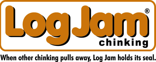 Log Jam Chinking Logo